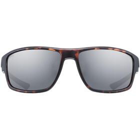 UVEX Sportstyle 230 Glasses havanna matt/litemirror smoke